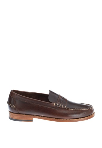 Sebago brown Legacy Penny Dress Casual Shoes SE328SH0IW4DPH_1