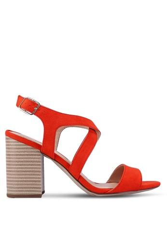 Dorothy Perkins red Red Spye Crossover Heels 6E62CSH1E3E85AGS_1