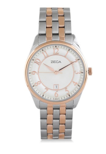 ZECA gold Zeca Watches Couple Ladies Fashion Stainless Steel Analog - 3003L Rosegold White ZE074AC0UL1HID_1