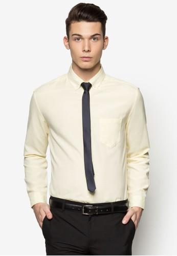 Slim Fit Oxford Shirt, 服飾,esprit 會員 服飾