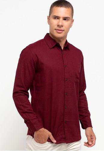 OLLten red O/L-Men Shirt 7B9D6AA9F5F55DGS_1