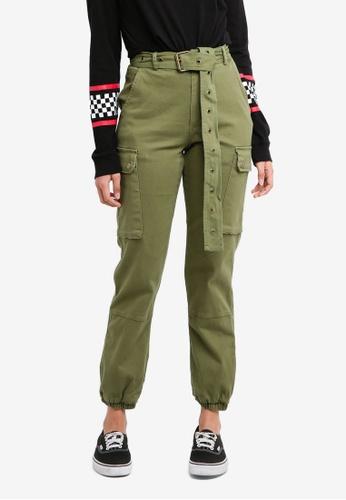 Factorie brown Military Pants C557BAA1CB18C0GS_1