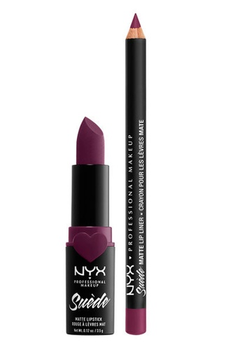 NYX Professional Makeup purple NYX Professional Makeup Lippie Duo Girl, Bye B9166BE648ED32GS_1