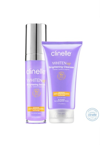 Clinelle Whitening : Clinelle [Official] WhitenUp Brightening Cleanser & Serum CL708BE37UJMMY_1