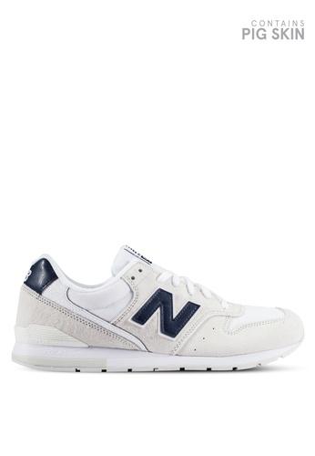 New Balance white 996 Lifestyle Sneakers NE323SH0RHB9MY_1