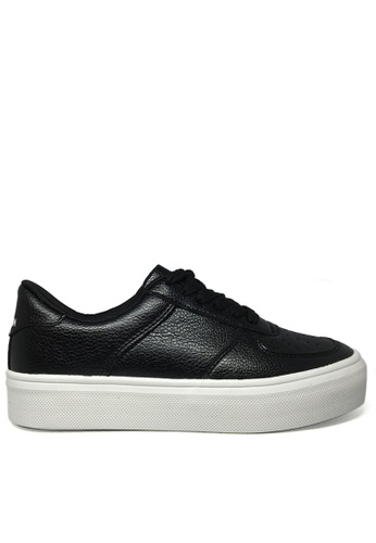 Twenty Eight Shoes black Soft Synthetic leather sneaker TW446SH97FYOHK_1