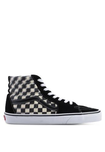 5f77eab7152cfe Buy VANS SK8-Hi Blur Check Sneakers