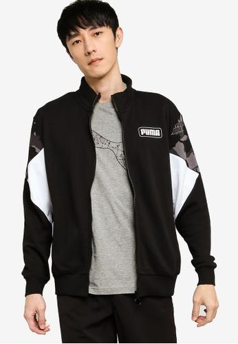 Puma 黑色 Sportstyle Core Rebel Camo Jacket CEB3EAA396EDDDGS_1