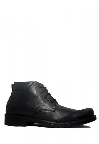 D-Island black D-Island Shoes Office Loafers Mens Leathe Black 812CDSH79E812AGS_1