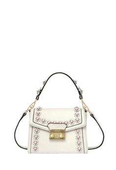 2b290e6dc2d BONIA white White Lexington Pearla Shoulder Bag XS BBF20ACEA5A762GS_1