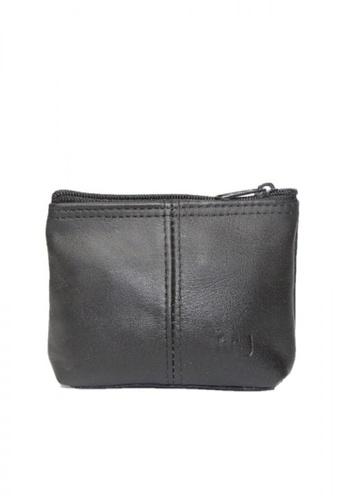 Mc Jim black Leather Coin Purse 962E7ACCD62D22GS_1