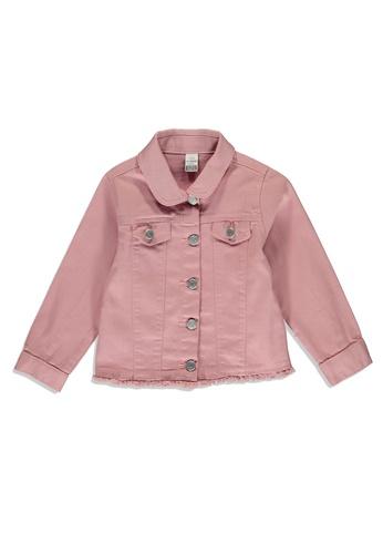 LC Waikiki pink Baby Girl's Gabardine Jacket 0D896KAD1E0B29GS_1