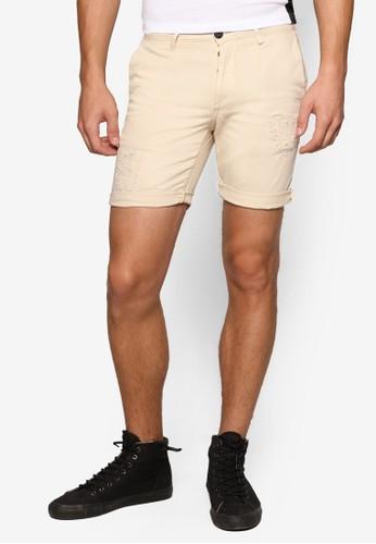 刷破奇諾休閒短褲,esprit outlet 旺角 服飾, 服飾
