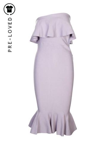 Sheike purple Pre-Loved sheike One Shoulder Long Dress 1941AAA4DC29BDGS_1