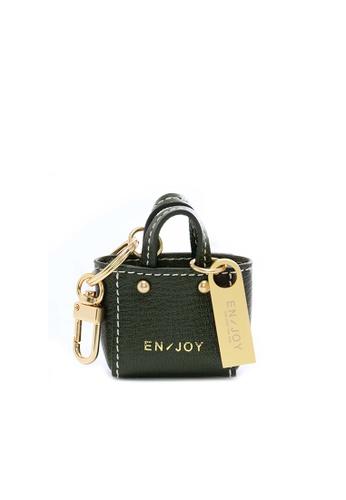Enjoybag green Zita's Micro USB Key Chain (Mini Bag Strap) EN763AC51PIEHK_1