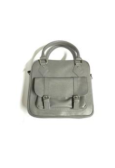 Marche grey sling bag