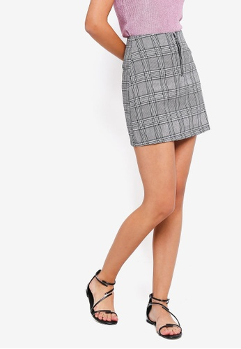 ZALORA multi Zipper Skirt D83E2AAB8FD508GS_1
