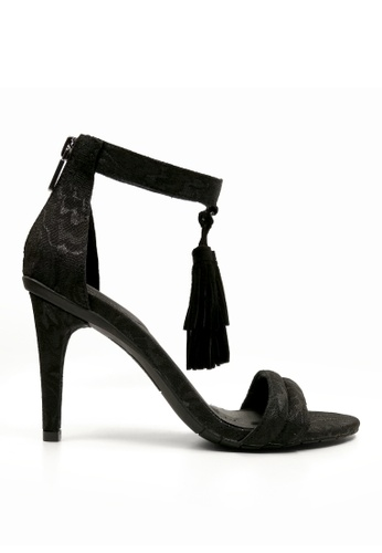 Kenneth Cole New York black SMASH LIGHT - Open-toe Heels KE615SH0RF2HMY_1