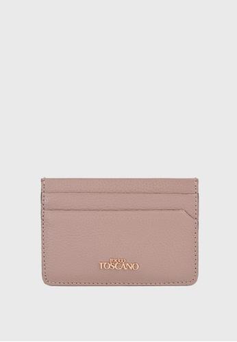 Tocco Toscano pink Lunar Slim Cardholder (Dusty Pink) E4ECEAC891FBF1GS_1