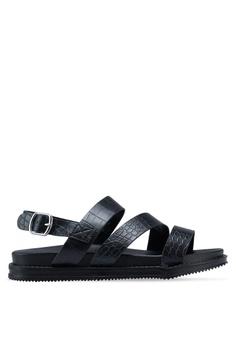 7176b5630ac0 Rubi black Carter Chunky Sandals 4BC2CSHBE226B6GS 1