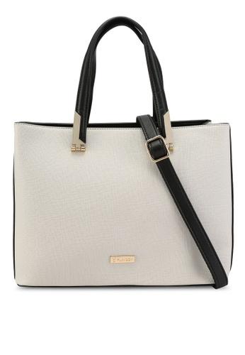PLAYBOY BUNNY grey Top-handle Sling Bag 1838AACF1EA25BGS_1