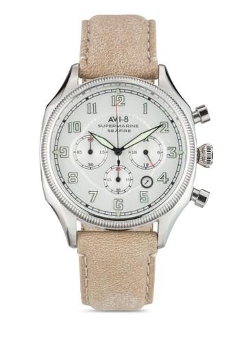 Supesprit手錶專櫃ermarine Seafire 皮革手錶, 錶類, 飾品配件