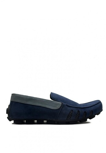 D-Island blue D-Island Shoes Moccasine Casual Oxford Leather Blue DI594SH0VXXMID_1