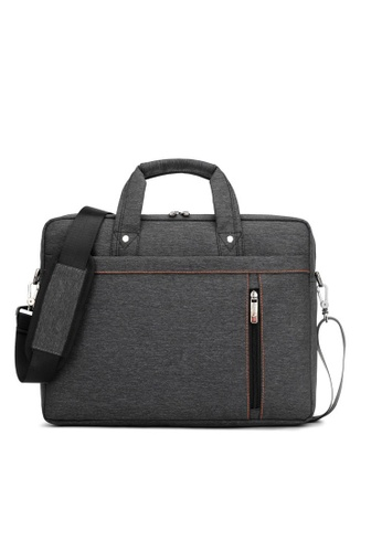 A FRENZ black A Frenz Waterproof Durable Shockproof Airbag 17 Inch Laptop Bag Carry Briefcase D185AACBAAC3ACGS_1