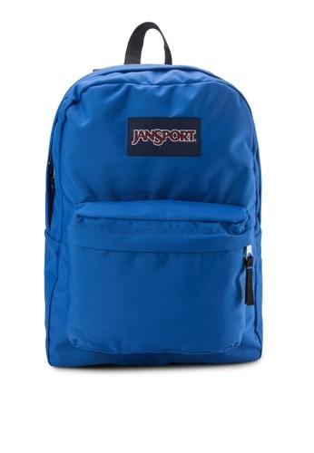 Jansport blue Superbreak Solid Backpack JA940AC45BOSSG_1