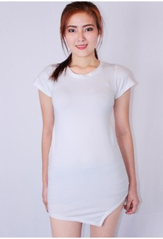 Asymmetric Short Dress