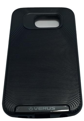 fd70b7c5fd3 Shop MobileHub Verus Shockproof Case for Samsung Galaxy S6 Edge (Black)  Online on ZALORA Philippines