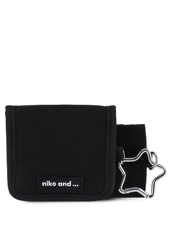 niko and ... black Star Pouch BE978ACB4AA841GS_1
