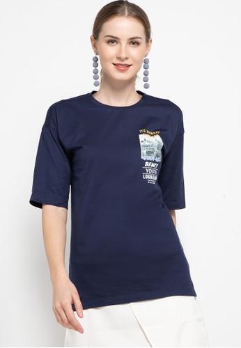 Logo Jeans navy Kyyn 92023AAF2D2055GS_1