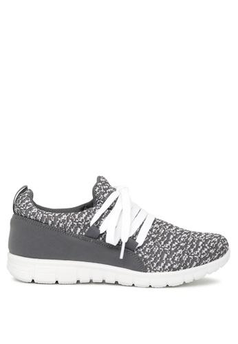 London Rag 灰色 London Rag女士灰色运动鞋 SH1651 DB2ADSH4602BA8GS_1
