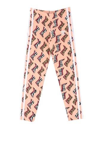 ADIDAS pink all-over print leggings 1FC27KA055A595GS_1
