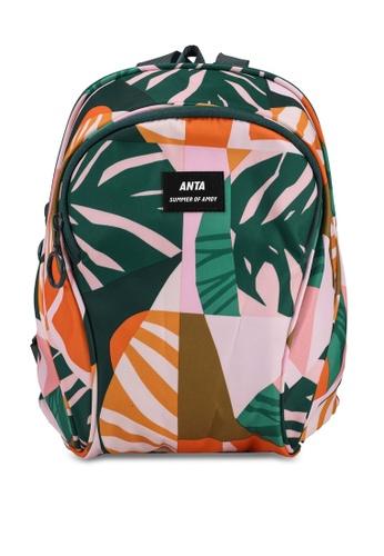 Anta orange Amoy Summer Backpack E43DCAC77C3A06GS_1