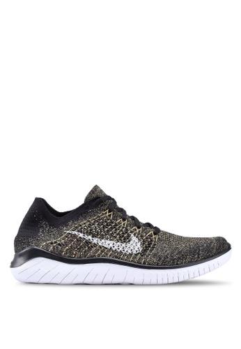 Nike black Nike Free Rn Flyknit 2018 Shoes BBAA9SHD631B56GS_1