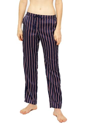 Etam blue Gina Striped Pajama Pants 2EDCCAABD18652GS_1