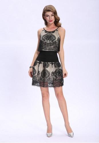 6159907796 Buy ANNE F Trendy Lace Mini Dress | ZALORA HK