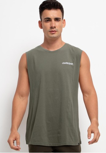 Quiksilver green Head On Muscle Id 39301AABAD78ABGS_1