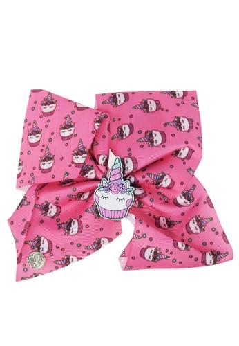 Jojo Siwa Jojo Siwa Bow With Clip (Unicorn Cupcake) 0B5F0KCED3015AGS_1