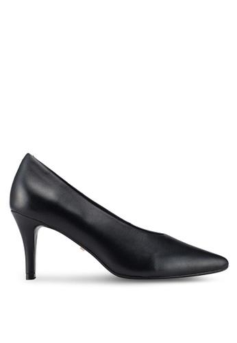 Dune London 黑色 粗跟高跟鞋 FBE94SHBB6A15AGS_1