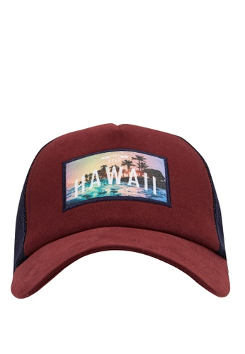 DeFacto red Man Hat 168D8AC16CB919GS_1