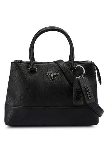 GUESS black Cordelia Luxury Top Handle Bag BD0FEACC38A12FGS_1