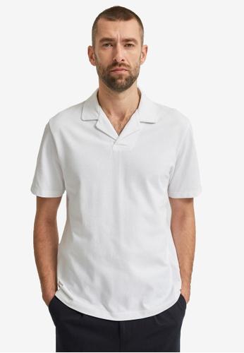 Selected Homme white Regatlas Polo G Shirt 496CDAAB09E0CEGS_1