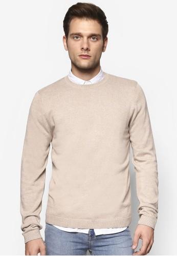 圓領領esprit hong kong套頭衫, 服飾, 毛線衣