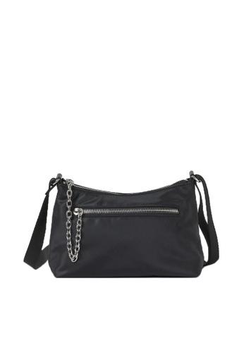 H&M black Shoulder Bag AEBE1AC5F52DE6GS_1