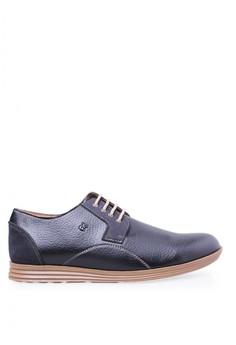 Sepatu Casual Pria - Edberth Frankfurt Black