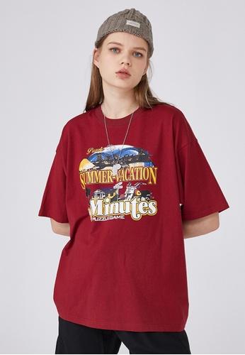 Twenty Eight Shoes Trend Printed Short T-shirt HH0027 BA01AAA45F8BC7GS_1