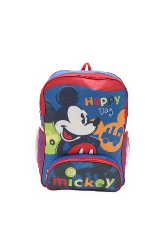 Disney blue Disney Mickey Mouse Tas Ransel Biru B2D99KCDA1CFD4GS_1